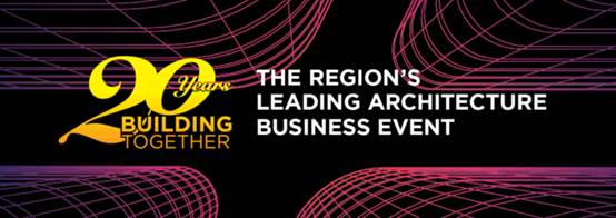 The region's leading architecture business event